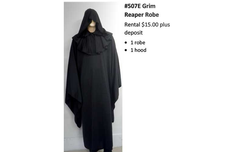 507 Grim Reaper Robe