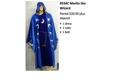 534C Merlin the Wizard
