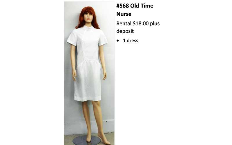568 Old Time Nurse