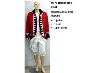571 British Red Coat