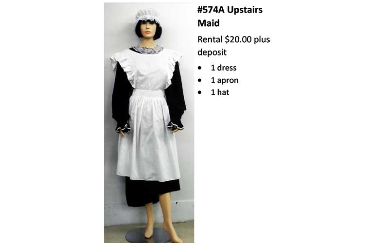 574A Upstairs Maid