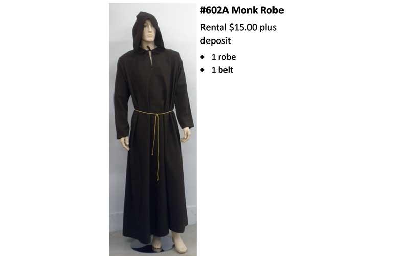 602A Monk Robe