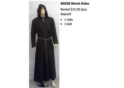 602 B Monk Robe