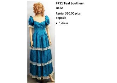 711 Teal Southern Belle