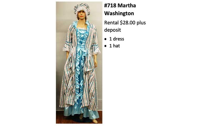 718 Martha Washington