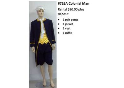 726A Colonial Man