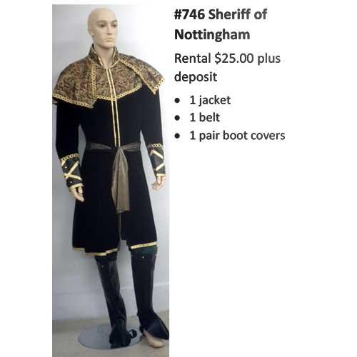 746 Sheriff of Nottingham