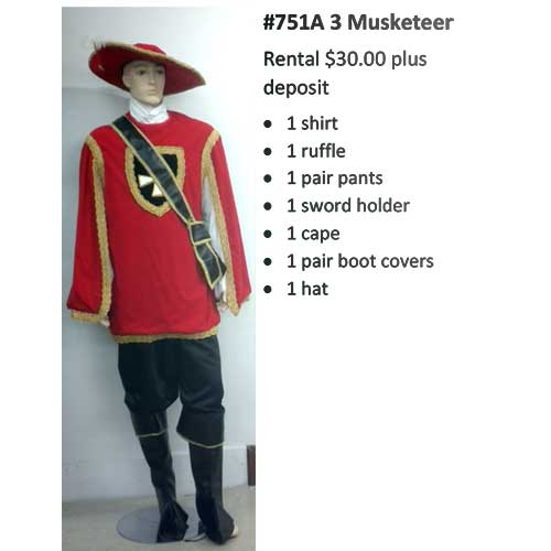 751A 3 Musketeer