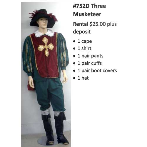 752D Three Musketeer
