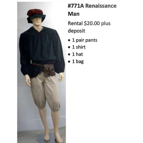 771A Renaissance Man
