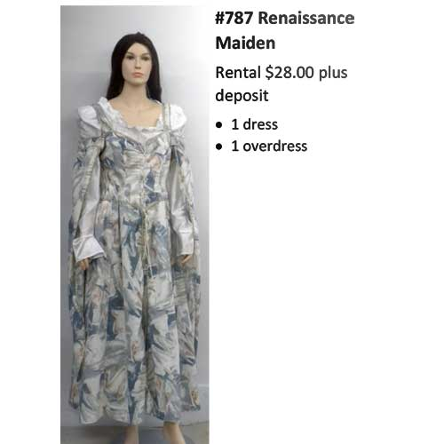 787 Renaissance Maiden