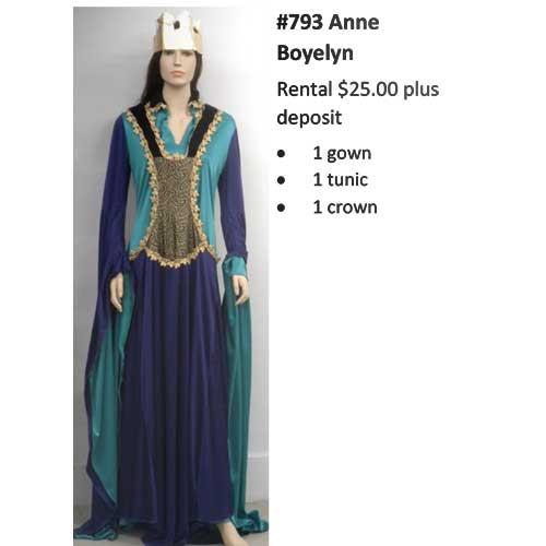 793 Anne Boyelyn