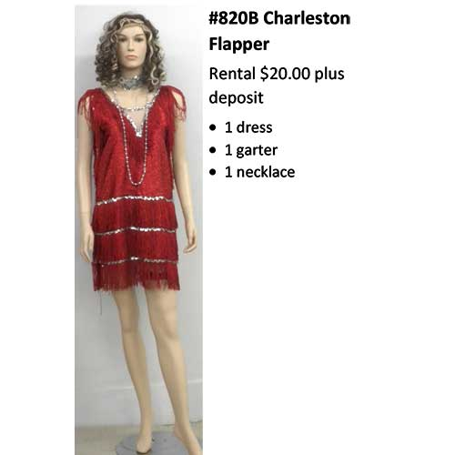 820A Charleston Flapper