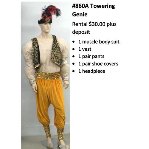 860A Towering Genie
