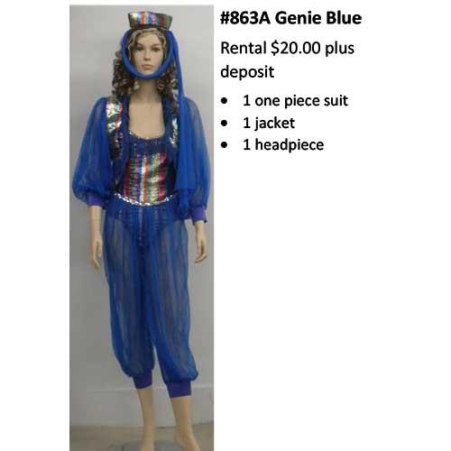 863A Genie Blue