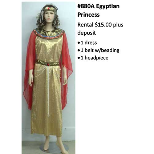 880 Egyptian Princess