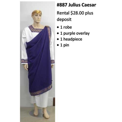 887 Julius Caesar