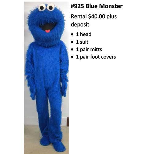 925 Blue Monster