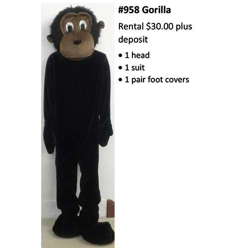 958 Gorilla
