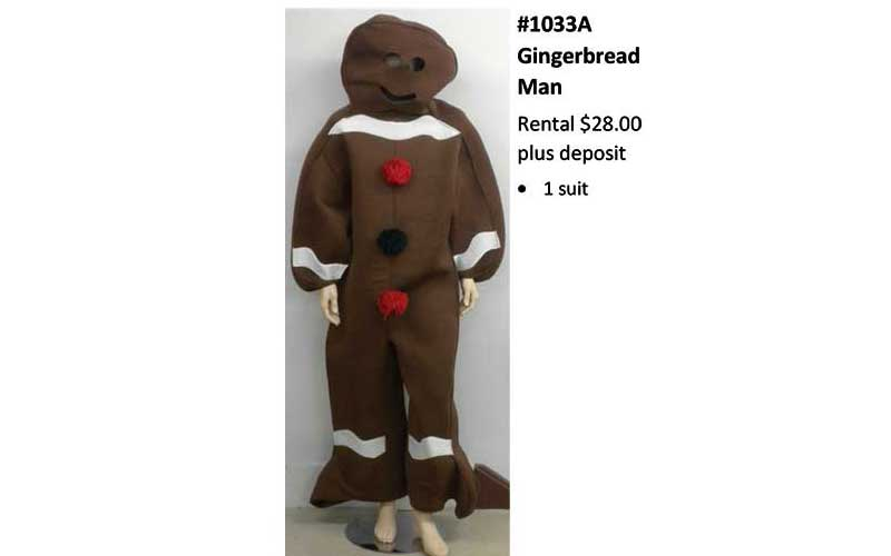 Gingerbread-Man Costume