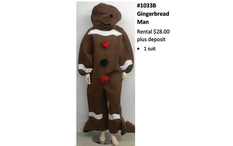 Gingerbread-Man Costume