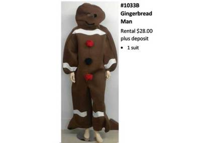 1033B Gingerbread Man