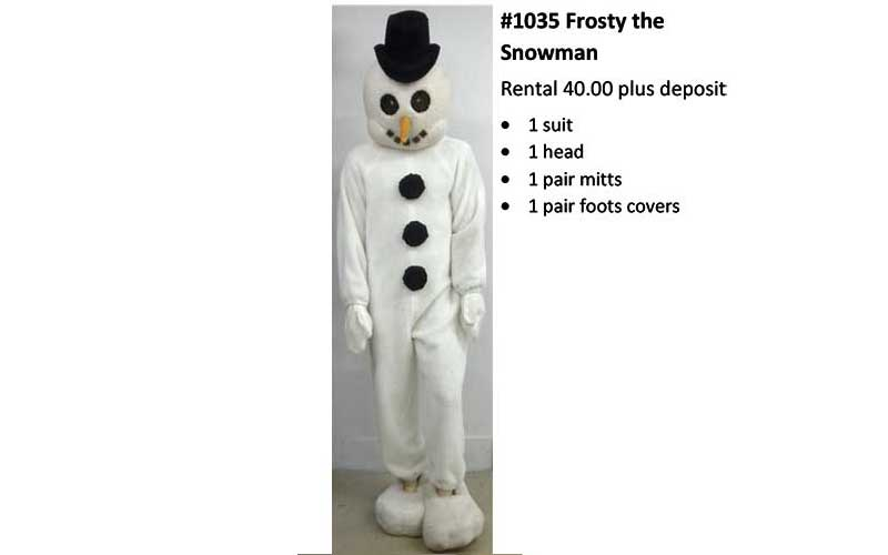 1035 Frosty the Snowman