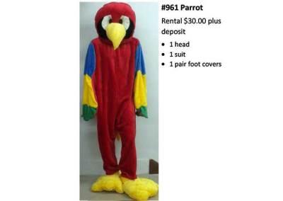 961 Parrot