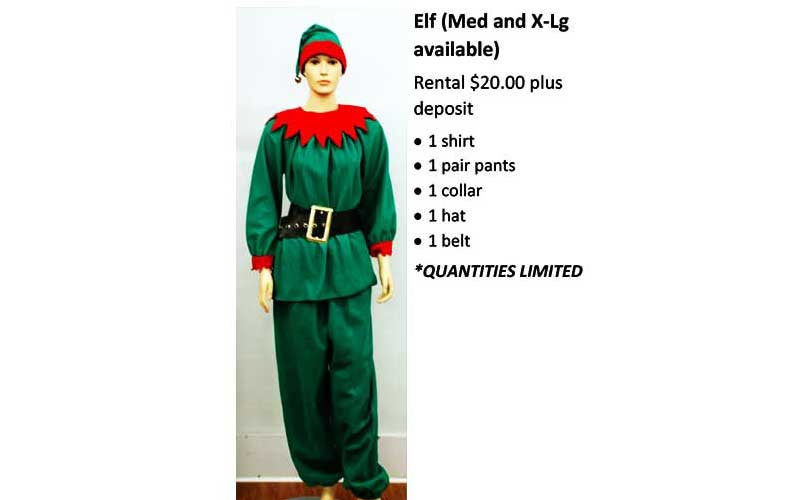 Elf (Med & X-Lg available)