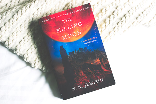 The Killing Moon by N. K. Jemisin book cover