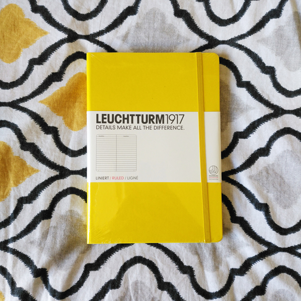 cover of the Leuchtturm 1917 notebook