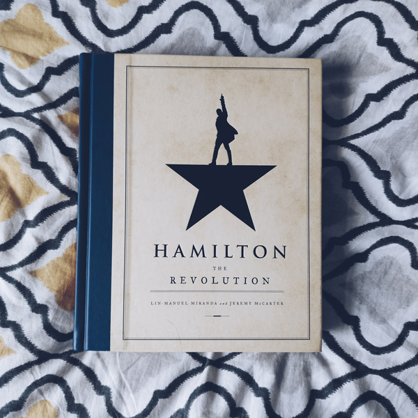Cover of Hamilton: The Revolution.