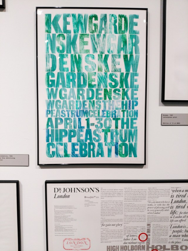 a life in letterpress exhibit