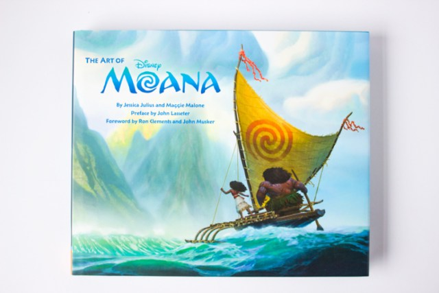 The art of moana cover