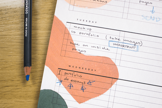 moglea stationery weekly pad review