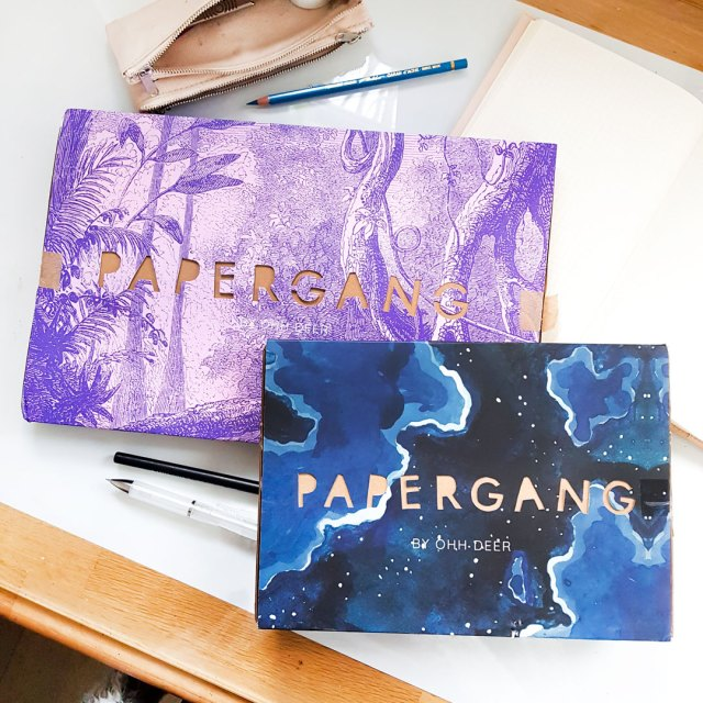 papergang stationery subscription boxes for december and january