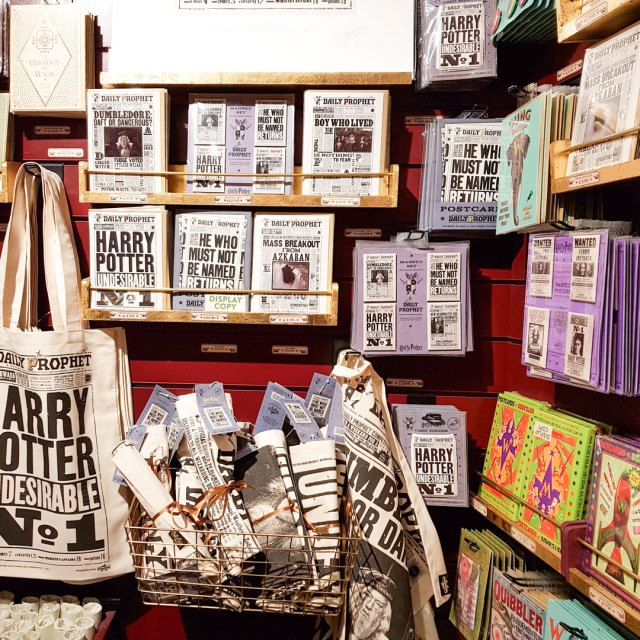 Harry Potter shop in the House of MinaLima