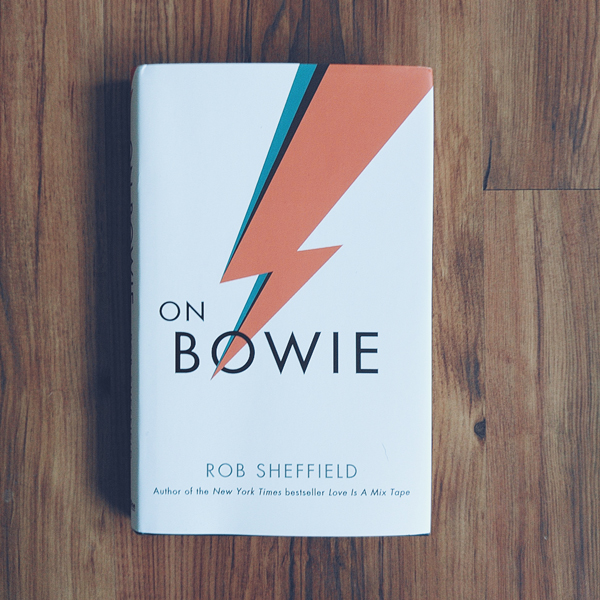 Cover of On Bowie by Rob Sheffield.