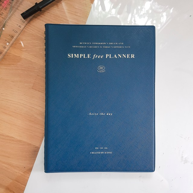 Iconic simple free planner.