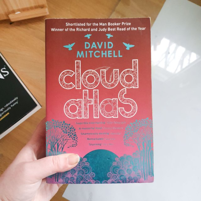 Favourite books of the 2010s including Cloud Atlas by David Mitchell.