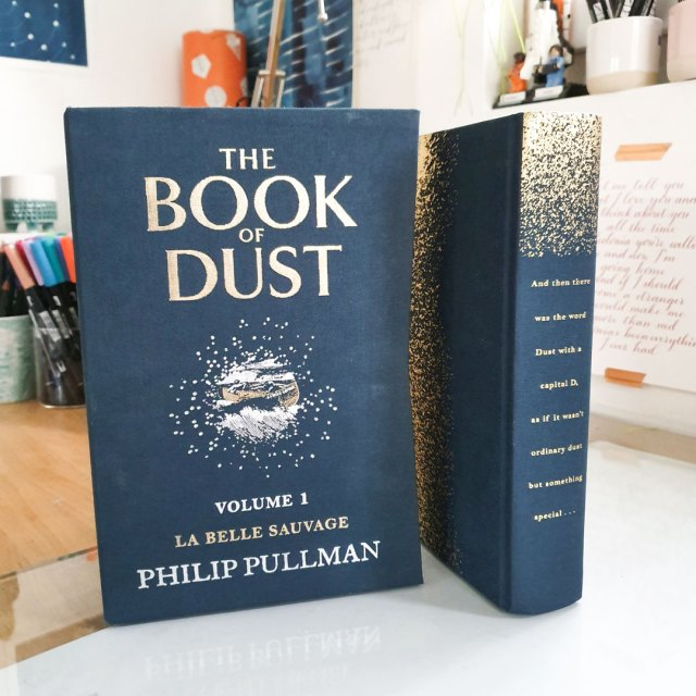 Hardback collectors edition of La Belle Sauvage from The Book of Dust series by Philip Pullman.