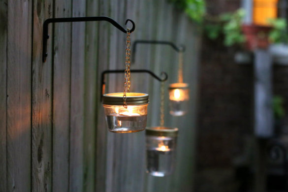 Outdoor Lighting DIY Ideas