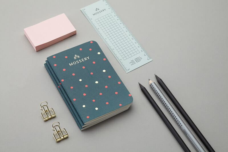 mossery-teal-dots-pocket-notebook