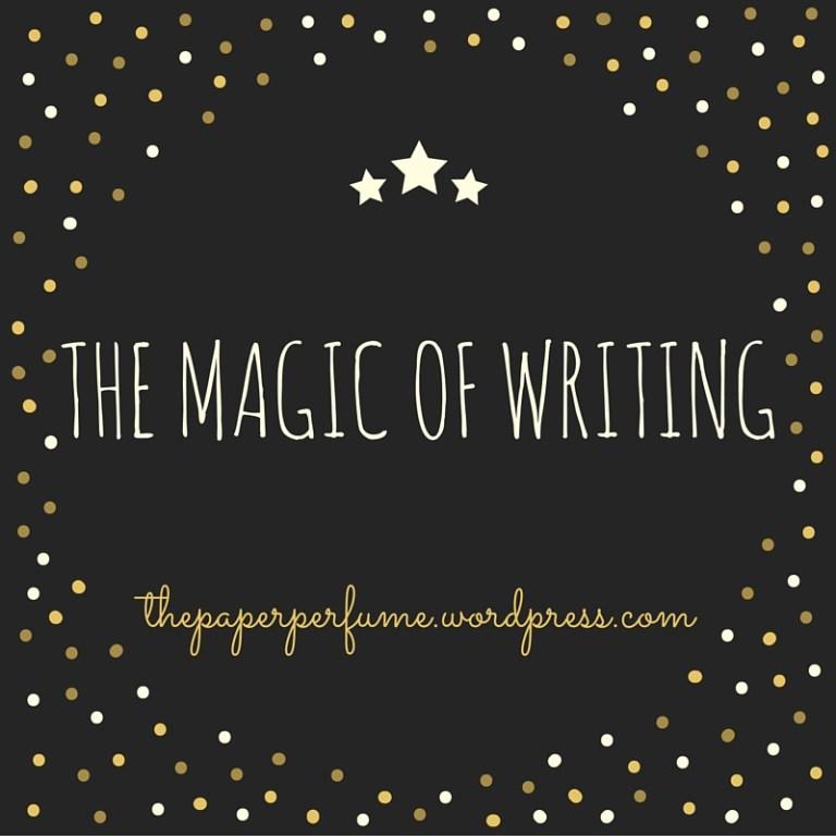 la scrittura è magia ENG