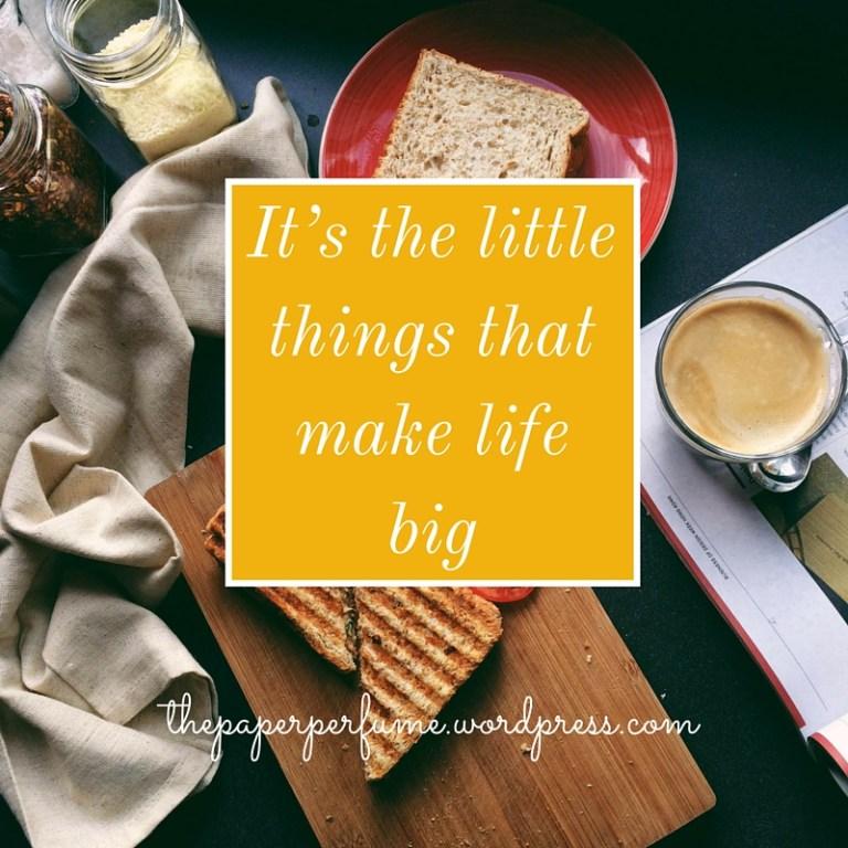 la gioia delle piccole cose ENG