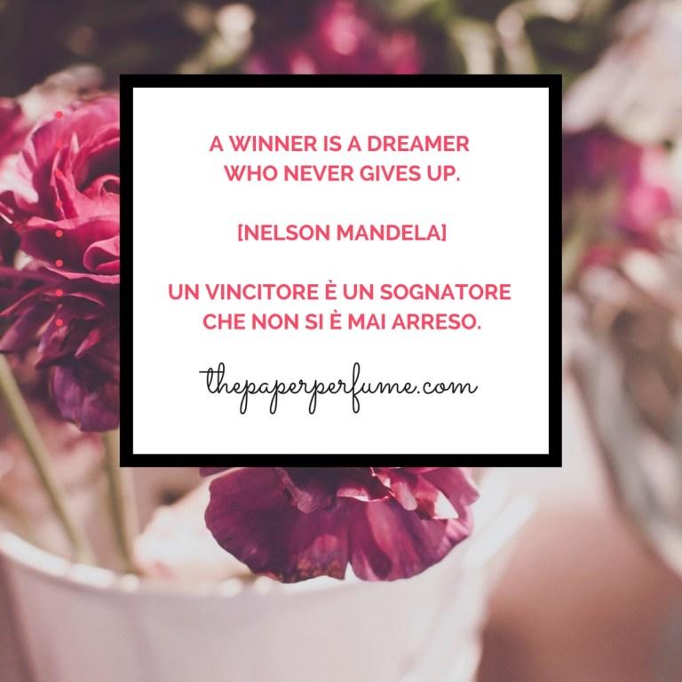 A winner is a dreamer...