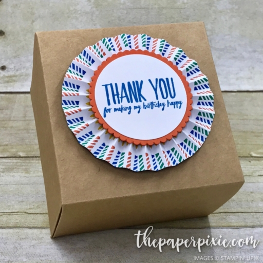 The Paper Pixie Birthday Party Favor Box