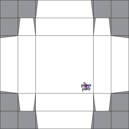 This is a template created by the Paper Pixie to go along with the video tutorial to assist you in making the Double Flip Top Box.