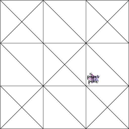 This is a template created by the Paper Pixie to go along with the video tutorial to assist you in making the Self-Closing Treat Holder.