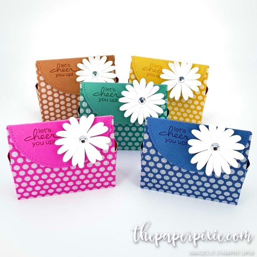 This is a handmade In Color Gift Bag craft project created by the Paper Pixie using Stampin' Up! supplies.